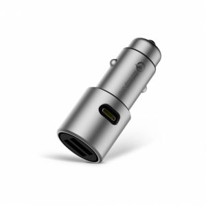 Xiaomi Fast Charging QC3.0 CZCDQ02ZM Full Metal Car Charger
