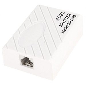ADSL Internet Phone Filter Splitter Broadband Modem Box