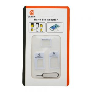 Griffin Nano Sim and Micro Sim adapter with ejector tool