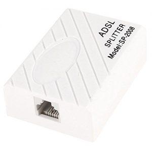 ADSL Internet Phone Filter Splitter Broadband Modem Box