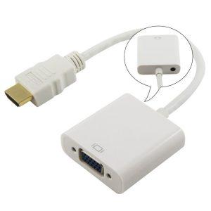 مبدل HDMI به VGA دارای خروجی صدا