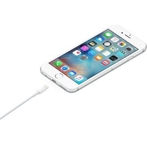 کابل شارژ اورجینال آیفون Lightning مدل iPhone MD819