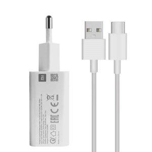 خرید شارژر 3 آمپر اورجینال شیائومی MDY-10-EF همراه با کابل USB-C